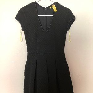 Catherine Malandrino s/s black dress w/ pockets